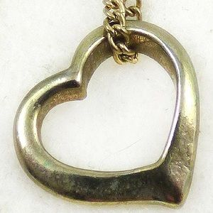 Jewelry - Vintage Floating Heart Pendant Charm